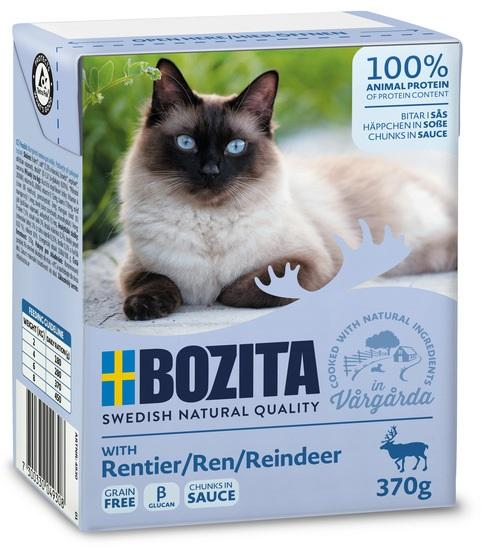 Bozita konserv kastmes põhjapõdralihaga kassidele