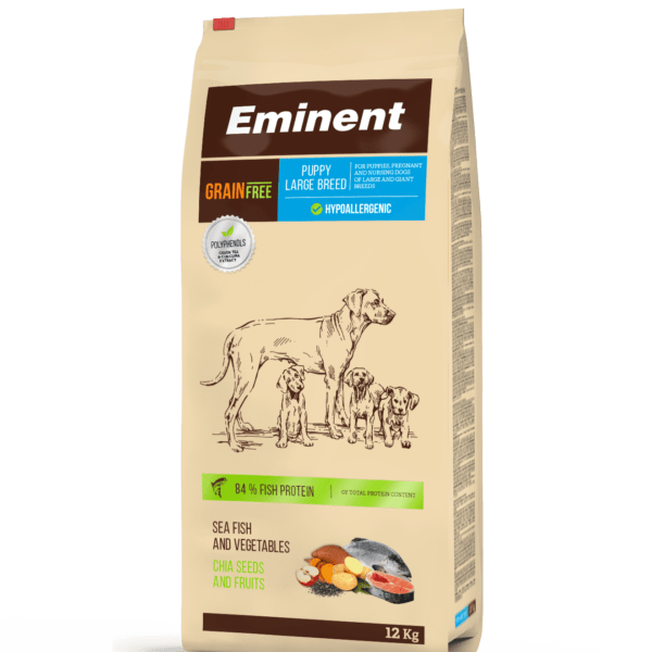 Eminent PLATINUM teraviljavaba täistoit suurt tõugu kutsikatele 12kg