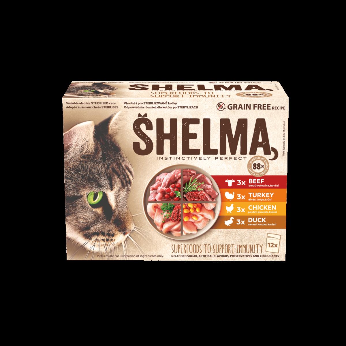 Šhelma kassi einekotikeste valik lihaga 12x85g