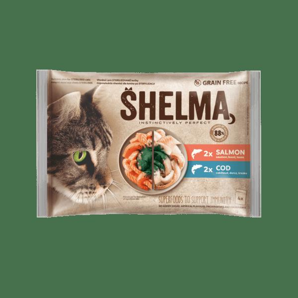 Šhelma kassi einekotikeste valik kalaga 4x85g