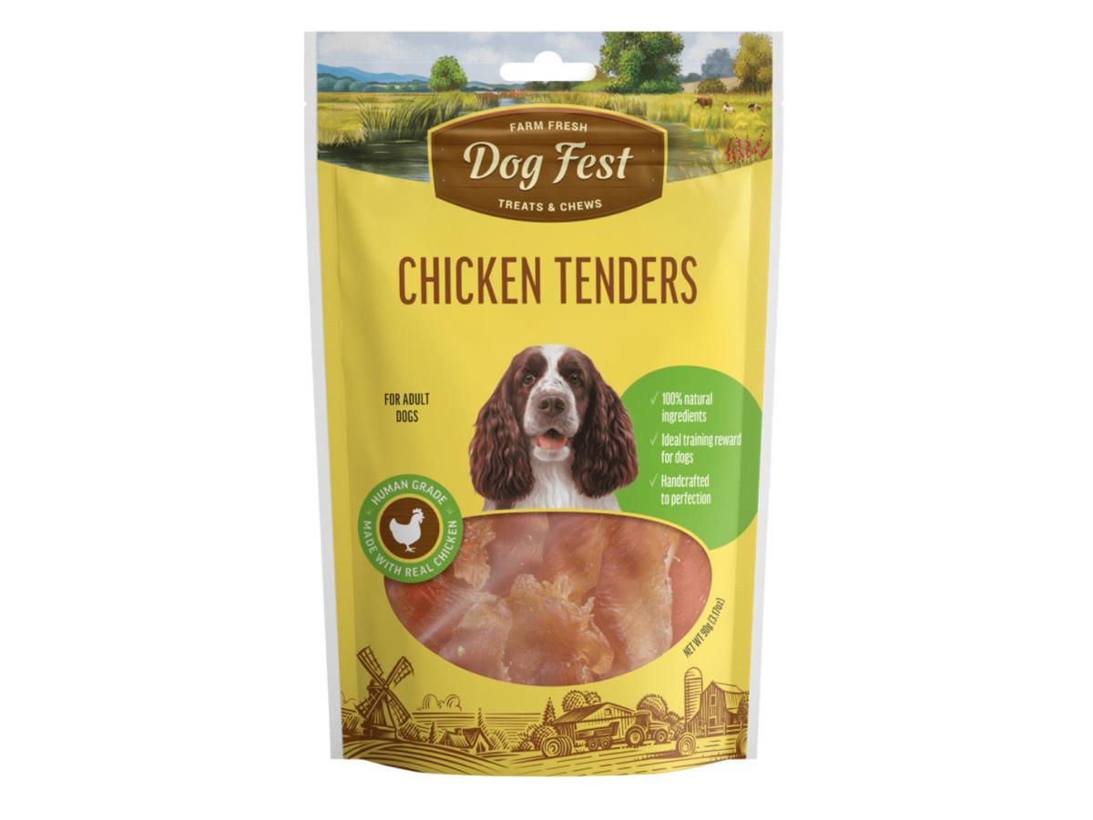 Dog fest chicken tenders
