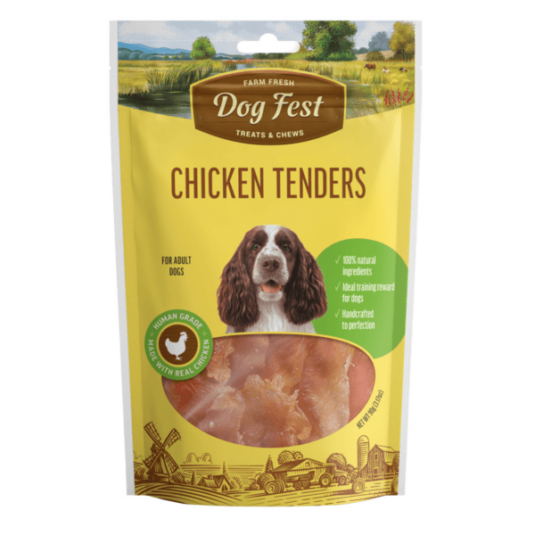Dog fest chicken tenders