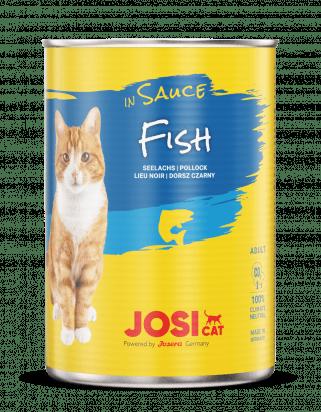 Josera JosiCat konserv kastmes kalaga kassidele 415g