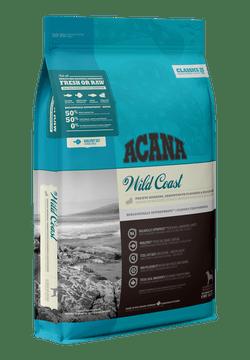 Acana Wild Coast täissööt kalaga igas vanuses ja igat tõugu koerale