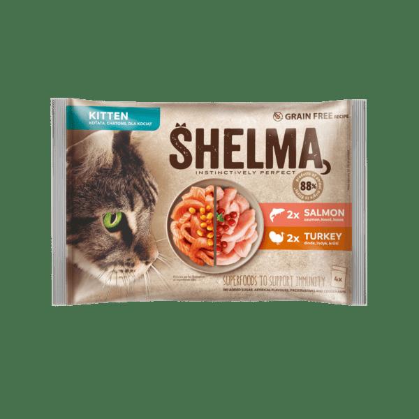 Šhelma kassipoja einekotikeste valik lõhe- ja kalkunifileega