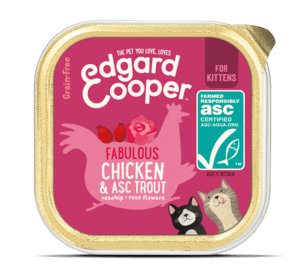 Edgard Cooper konserv kassipoegadele forelli ja kanalihaga 85g