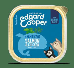 Edgard Cooper konserv eakatele 8+ kassidele lõhe ja kanalihaga 85g