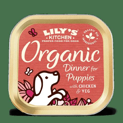 Lily's Kitchen konserv kutsikatele orgaanilise kanaliha ja köögiviljadega 150g