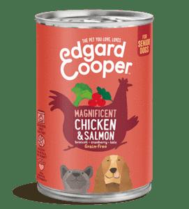 Edgard Cooper konserv eakatele koertele kanaliha ja lõhega 400g