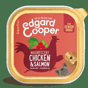 Edgard Cooper konserv eakatele koertele kanaliha ja lõhega 150g
