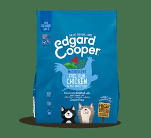 Edgard Cooper kassi täissööt eakatele kassidele kanaliha ja valge kalaga 300g